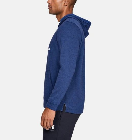 Under Armour Sportstyle Terry pulover, logo, modra
