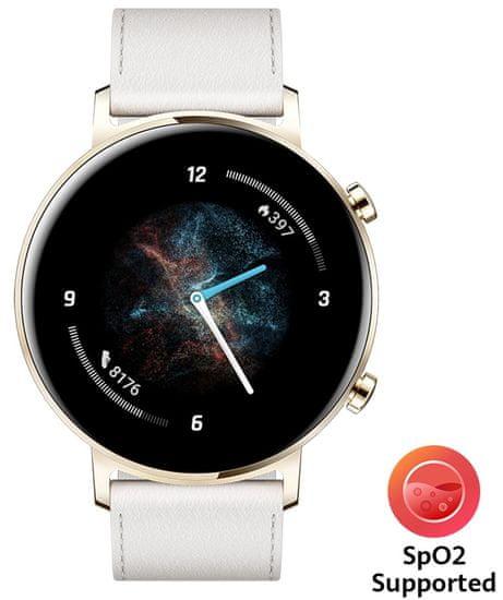 Huawei Watch GT 2 Frosty White pametna ura, 42 mm, bela