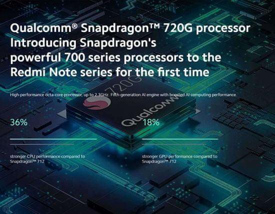 Xiaomi pametni telefon Redmi Note 9S, 4GB/64GB, 4G-LTE, bel