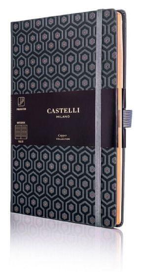 Castelli Italy Zápisník C&G Honey Copper