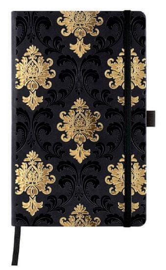 Castelli Italy Zápisník C&G Baroque Gold