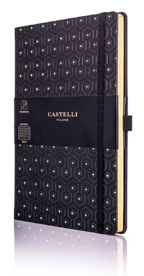 Castelli Italy Zápisník C&G Honey Gold
