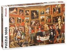Piatnik Puzzle Zoffany - Trybuna Galerii Uffizich 1000 elementów