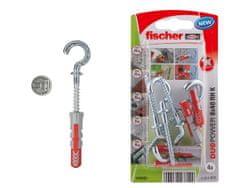 Fischer Hmoždinka s háčkem DUOPOWER 10x50 RH -2ks