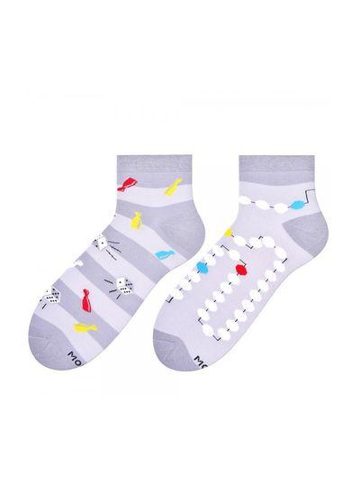 More Asymetrické pánské ponožky More 035 světle zelená 39-42