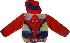 Disney Chlapecká červená bunda Spiderman Vel:98