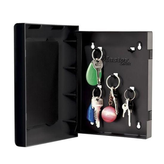 MasterLock 5451EURD Skříňka na 5ks klíčů