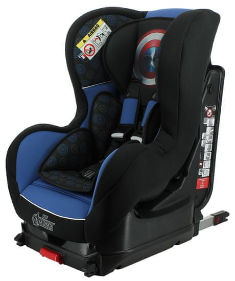 Nania Cosmo Isofix Captain America 2020 otroški avtosedež