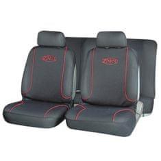 Cappa EXTREME üléshuzat fekete/piros