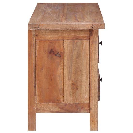 shumee tömör újrahasznosított fa TV-szekrény 102 x 35 x 50 cm