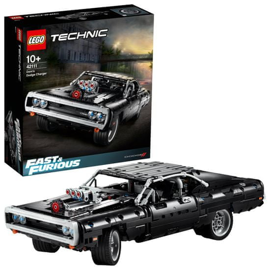 LEGO Technic 42111 Domov Dodge Charger