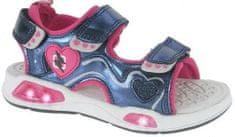 Beppi lány szandál 2171490, 26, rózsaszín/kék