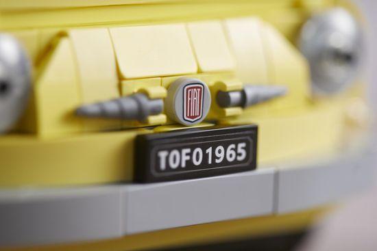 LEGO Creator Expert 10271 Fiat 500 model