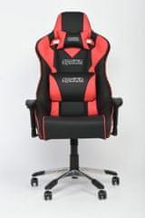 Spawn Flash Series gaming stol, rdeč, XL