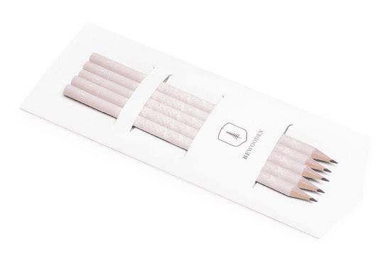 BeWooden Set růžových tužek ze dřeva Reapink Pencil Set