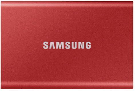 Samsung T7 SSD 1TB, červená (MU-PC1T0R/WW)