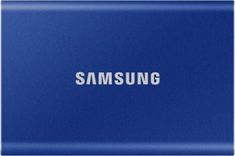 Samsung T7 SSD 1TB, modrá (MU-PC1T0H/WW)