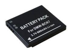 TRX Baterie Panasonic DMW-BCK7E - Li-Ion 3,6V 680mAh