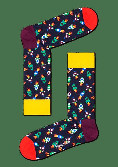 Happy Socks unisex ponožky Rocket Sock ROC01-6500
