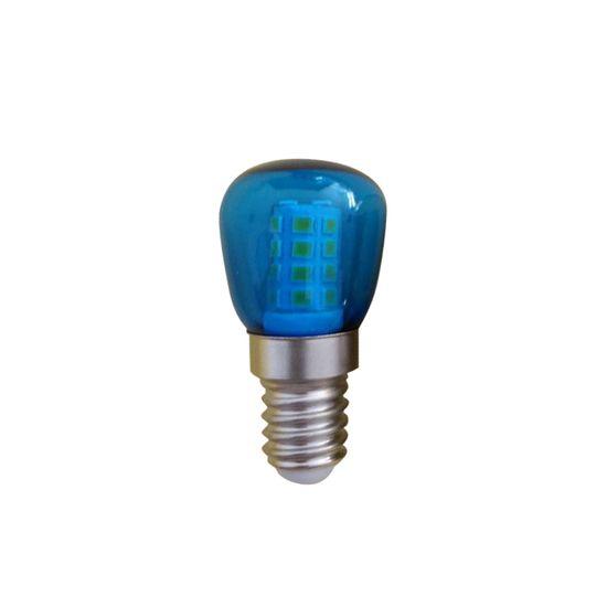 Diolamp LED mini žárovka modrá ST26 1W/230V/E14/Blue/60Lm/360°/A+