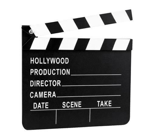 Dekorácie filmová klapka - Hollywood