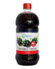 SAGENA Sirup s podielom min. 50% ovocia - Čierna ríbezľa 1L