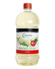 SAGENA Sirup s podielom min. 50% ovocia - Bazový kvet 1L