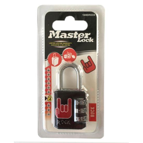 MasterLock 1509EURDROCK Kombinační visací zámek - 30mm