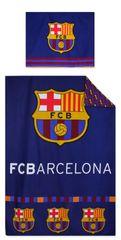 """SETINO Otroška posteljnina """"FC Barcelona"""" - 140x200, 70x90 bordo"""
