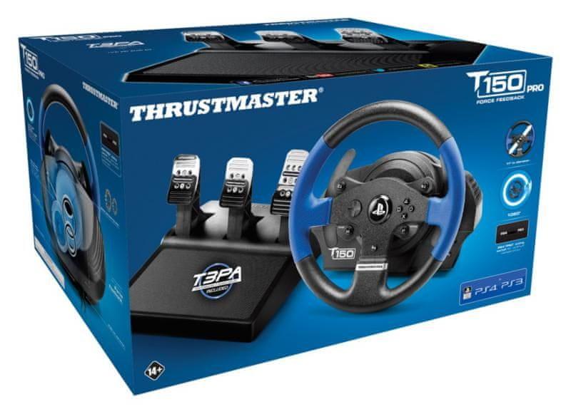 Thrustmaster Sada volantu a pedálů T150 PRO (4160696) - zánovní