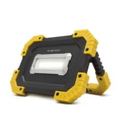 PHENOM Akumulatorski USB COB LED reflektor 16W 1000 lm 2 x 2200mAh z USB powerbank funkcijo za telefon ali tablico