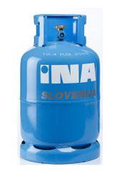 INA Slovenija plinska jeklenka 10 kg - z brezplačnim najemom jeklenke