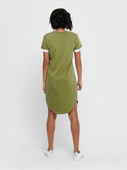 Jacqueline de Yong Ženska obleka JDYIVY LIFE 15174793 Martini Olive
