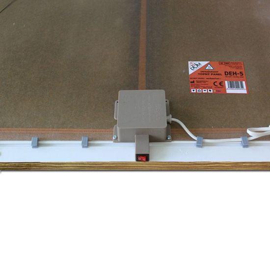 INFRADŮM Sálavý topný panel s potiskem v rámu 500w