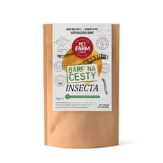 Pet Farm Family Insecta BARF na cesty 70 g