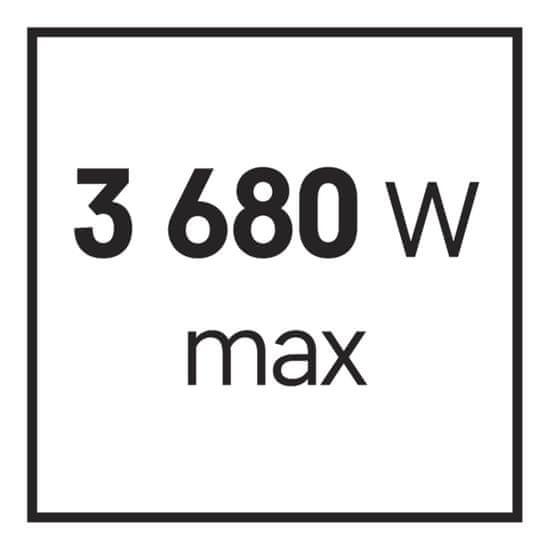 Emos Přepěťová ochrana 1800J– 8 zásuvek, 3 m, černá (1909480300)