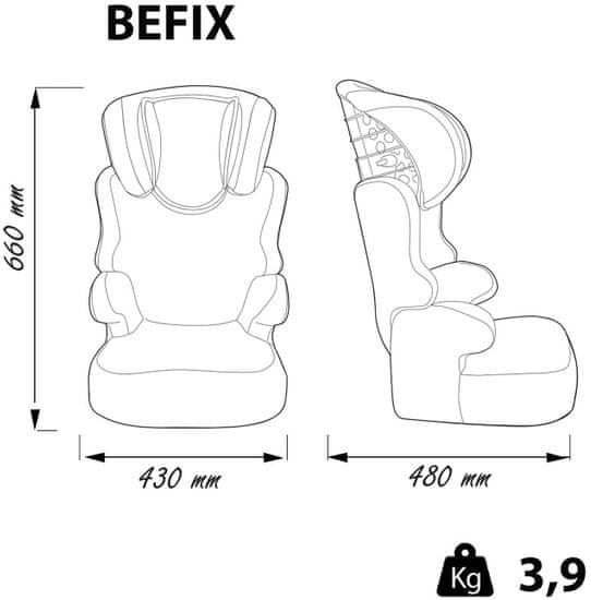 Nania fotelik samochodowy BEFIX MICKEY STAR STRIPES FIRST 2020