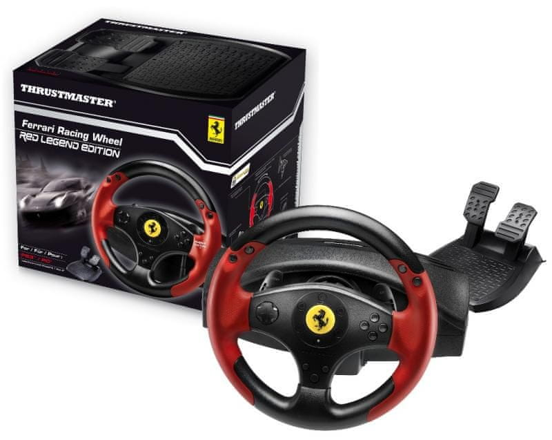 Thrustmaster Ferrari Racing Wheel Red Legend - rozbaleno