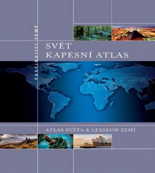 World Maps Vreckový atlas sveta 1:5mil, 1:65mil / 2014, česky