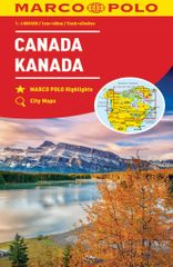 World Maps Kanada 1:4mil automapa Marco Polo