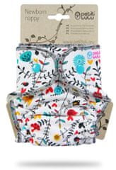Petit Lulu pieluszka dla noworodków Kwiaty