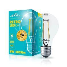 ETA Retro LED žarnica, E27, 8 W