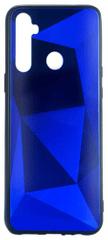 EPICO Colour Glass Case ovitek za Realme 5, moder