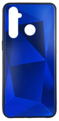 EPICO etui COLOUR GLASS CASE do Realme 5 Pro 46410151600001, niebieskie