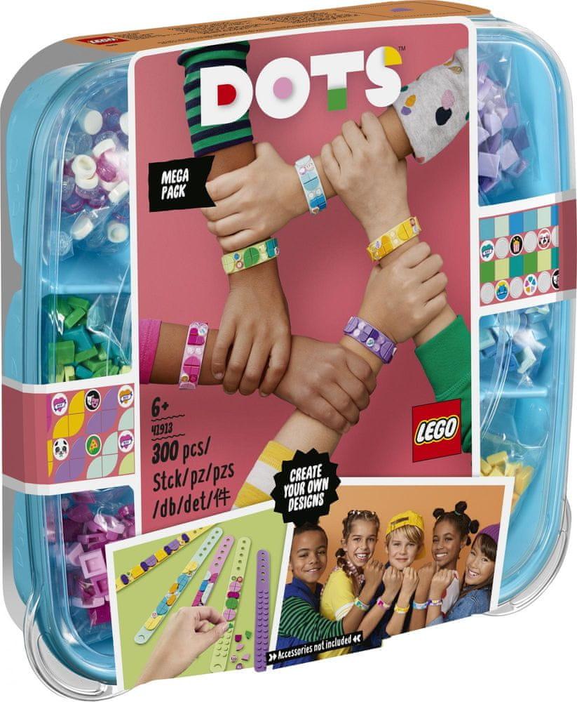LEGO DOTS 41913 Mega balení náramků