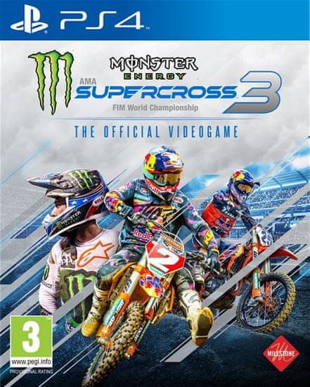 Milestone Monster Energy Supercross 3 - The Official Videogame igra (PS4)