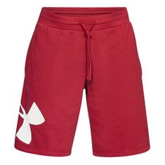 Under Armour Kratke hlače Under Armor Rival Fleece Logo Sweatshort, Moški Moške hlače Moške hlače XXL