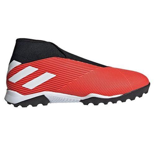 Adidas Buty piłkarskie NEMEZIZ 19.3 Laceless TURF RED / WHITE, Mężczyźni G54686 | BIAŁO - CZERWONY 45 1/3