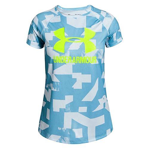 Under Armour Veliki logotip Tee Novost SS-BLU, Dekleta | Oblačila | Vlak | Vrhovi | Kratki rokavi | ZDA: YLG | EU: L