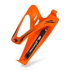 RaceOne X3 RACE košík na láhev pogumovaný - oranžový matný
